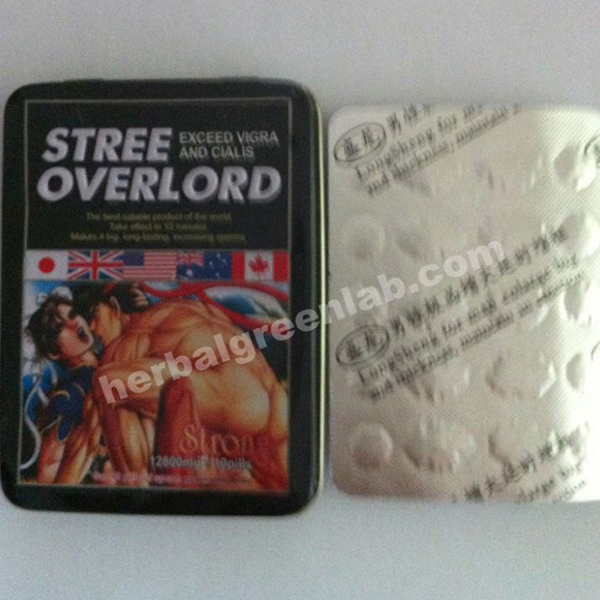 Wholesale Street Overlord Sex Pill Made In China