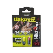 Oem Black And Yellow Libigrow Sex Enhancer Capsules